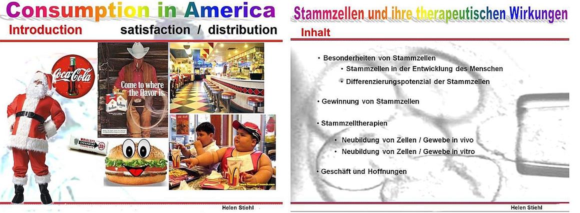 Powerpoint-Präsentationen a Helen Stiehl Kassel